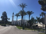 mosque in sun