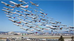 lots of planes