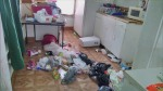 trashed apartment